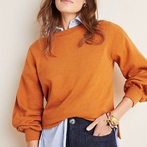 Anthropologie Lilou Sweatshirt Honey Small NWT